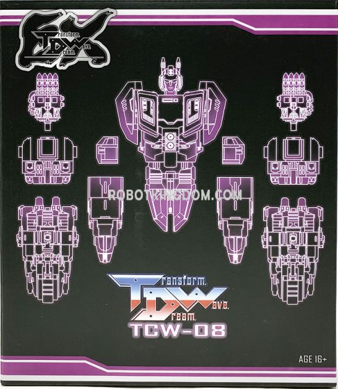 Transform Dream Wave TCW-08EX. Available Now!