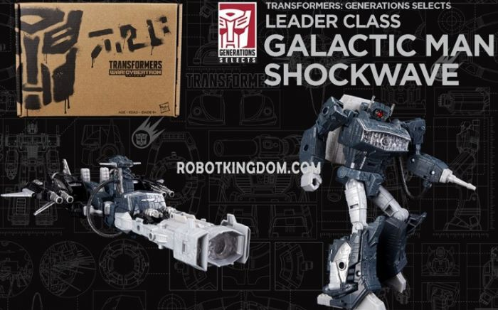 Exclusives Transformers Generations Selects LEADER SHOCKWAVE. Available Now!