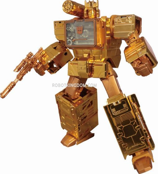 Wonder Festival Exclusives Transformers Golden Lagoon Soundwave. Available Now!