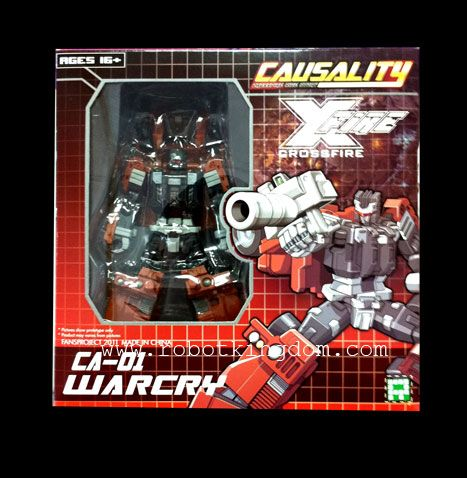 Fansproject Causality CA-01 Warcry. Avaliable Now!