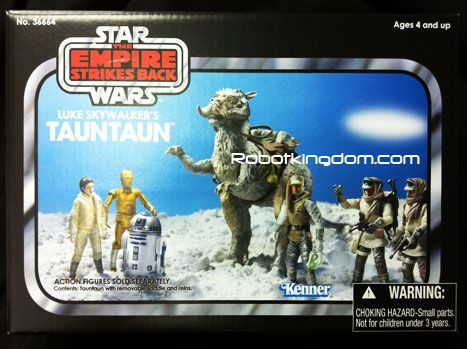 Hasbro Star Wars 2011 Vintage Vehicle - LUKES TAUN TAUN. Available Now!