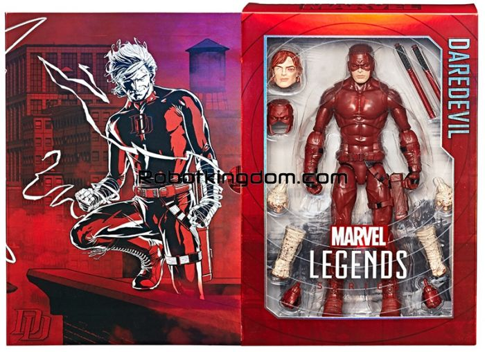 SDCC 2017 Exclusive 12 inch Marvel Legends Daredevil. Start Shipping Now!