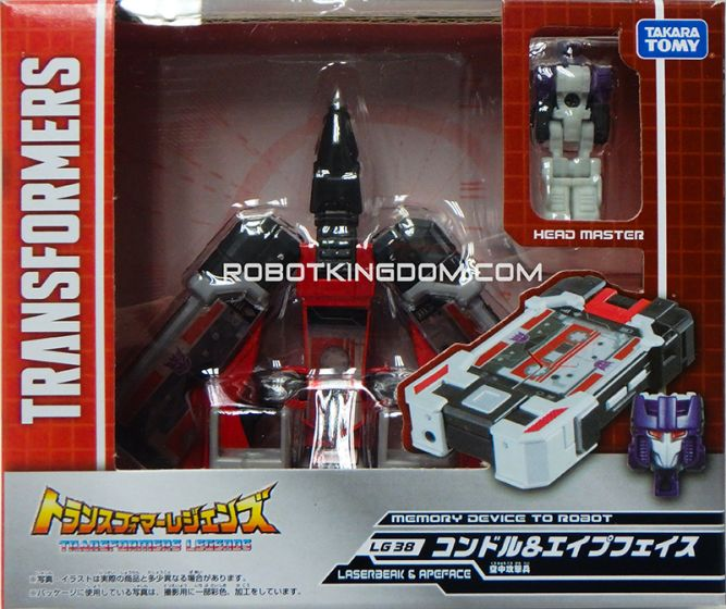 Transformers Legends LG-38 - Kontaru & Elfface. Available Now!
