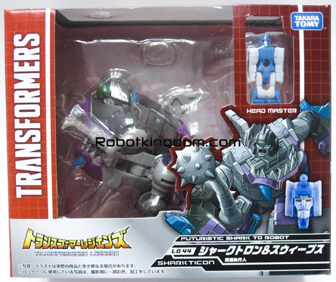 Transformers Legends LG-44 Shartron & Sweeps. Available Now!