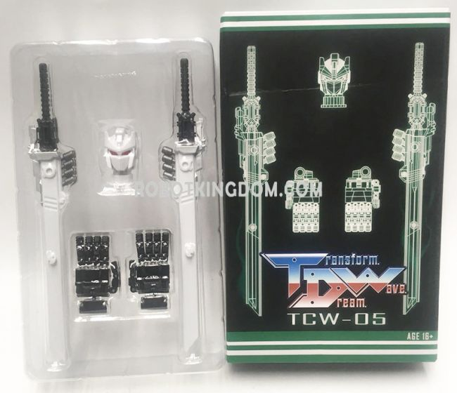 Transform Dream Wave TCW-05 Titans Returns Sixshot Upgrade Kit. Available now!