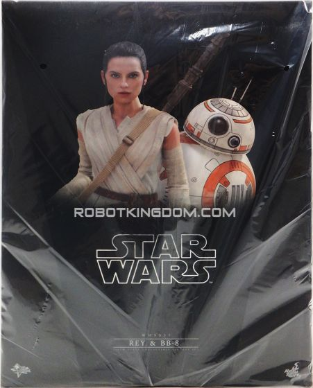 Hot Toys MMS337 Star Wars The Force Awakens Rey & BB-8. Available Now!