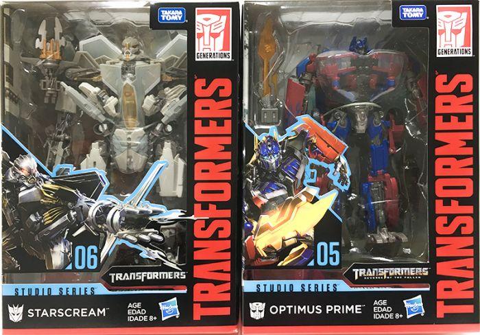 Hasbro Transformers Studio Series VOYAGER Wave1 set of 2. (OPTIMUS PRIME, STARSCREAM). Restock! Available Now!