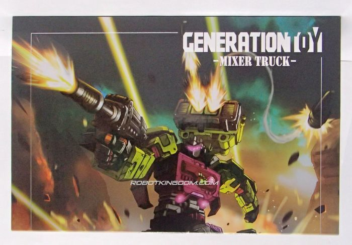 Generation Toy Gravity Builder: GT-01B. Available Now!
