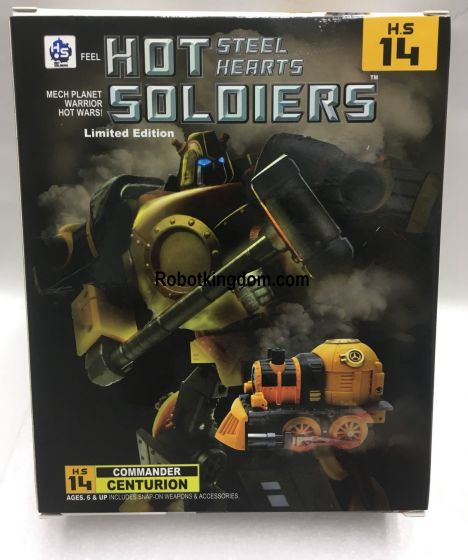 Mech Planet H.S. 14 Iron Hero.Available Now!
