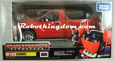 Takara Transformers BT-22 Convoy - Dodge SRT10. Warehouse Found!