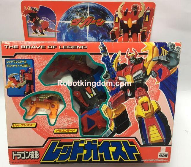 Takara Brave of Legend Red Geist D-336 Deszaras Repaint