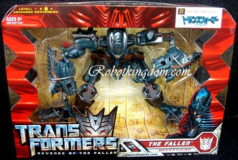 Takara Transformers 2 ROTF Movie Voyager RD-10 Fallen. Last pcs. Warehouse Found!