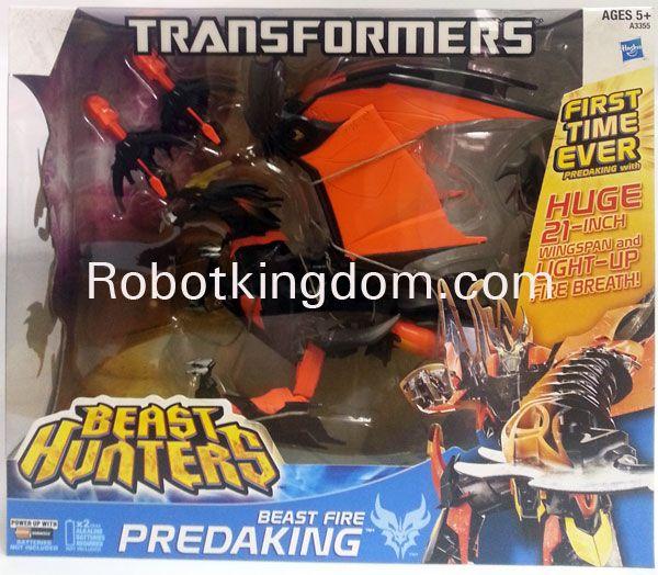 Hasbro TF Prime Beast Hunters Ultimate Predaking.Available Now!