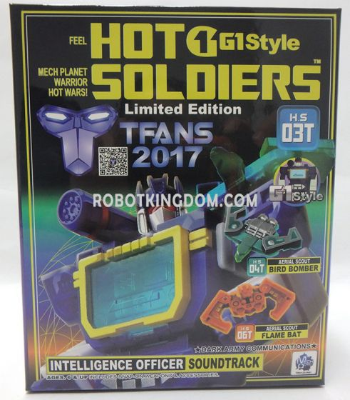 Mech Planet H.S.-03T Hot Soldiers Toy Colour Ver. Limited to 2000pcs worldwide. Available Now!