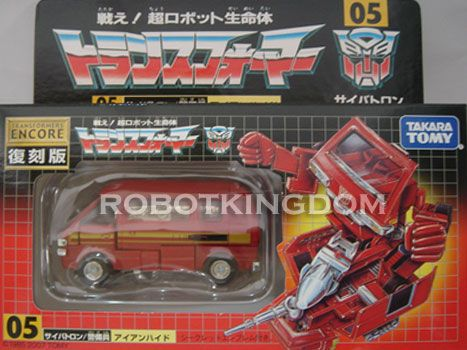 Takara Transformers Encore Reissue #05 Ironhide Available Now!