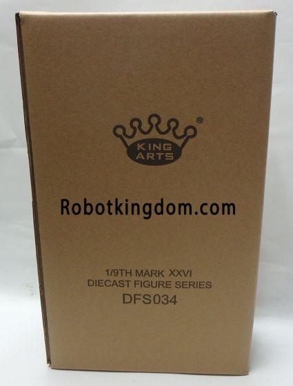 King Arts - 1/9 Diecast Figure Series -DFS034- Iron Man Mark 26 Gamma. Available Now!
