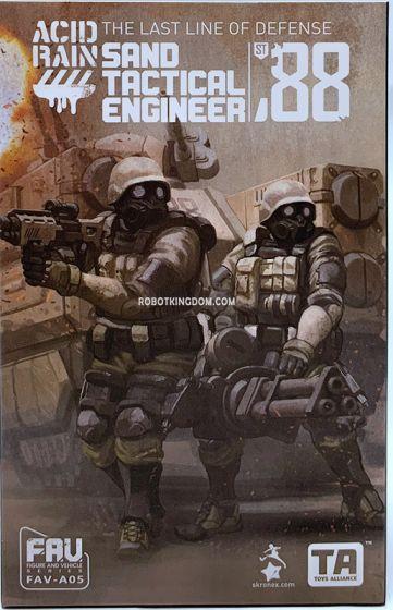 Acid Rain World FAV-A05 Sand Tactical Engineer. Available Now!