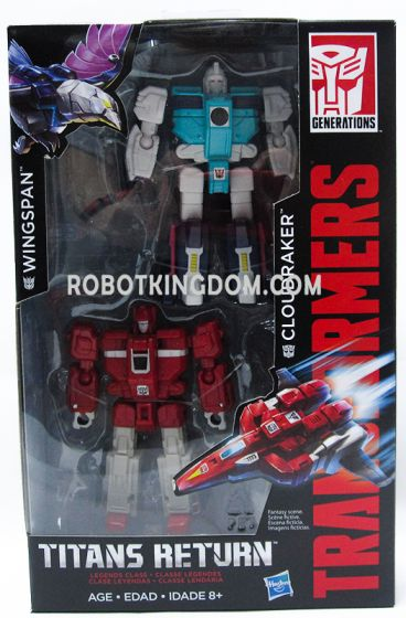 Hasbro Walgreens Exclusive Transformers Generations CLONES Wingspan and Cloudraker 2Pack. Available Now!