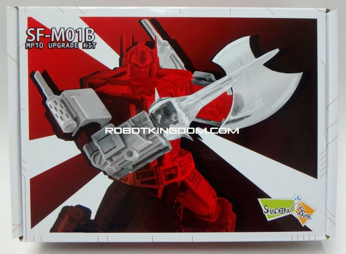 Shadow Fisher SFM-01B Arm & Ax Upgrade - Japanese Version. Available Now!