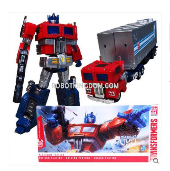 Hasbro Platinum Edition Hybrid Style THS-02 G1 Optimus Prime. Available Now!