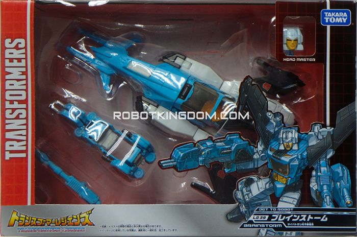 Transformers Legends LG-39 Brainstorm. Available Now!