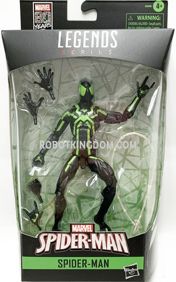 """HASBRO Marvel Comics 80th Anniversary Marvel Legends 6"""" Big Time Spiderman. Available Now!"""