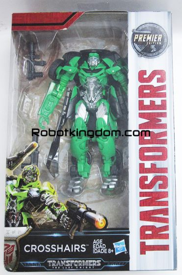 Transformers Movie 5 - The Last Knight Premier Deluxe Crosshairs. Available Now!