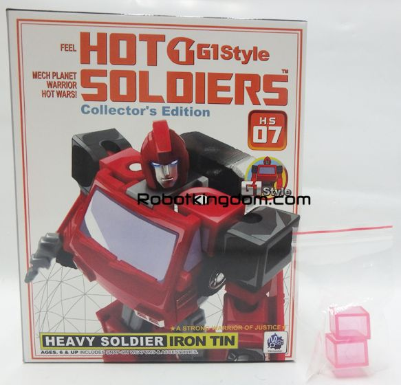 Mech Planet H.S.-07 HEAVY SOLDIER IRON TIN. Available Now! Last pcs!