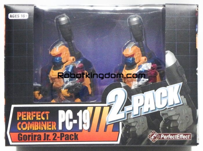 Perfect Effect PC-19 Gorira Jr. 2-Pack. Available Now!