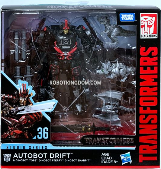 HASBRO Transformers Studio Series Deluxe Drift with Mini Dinobots. Available Now!