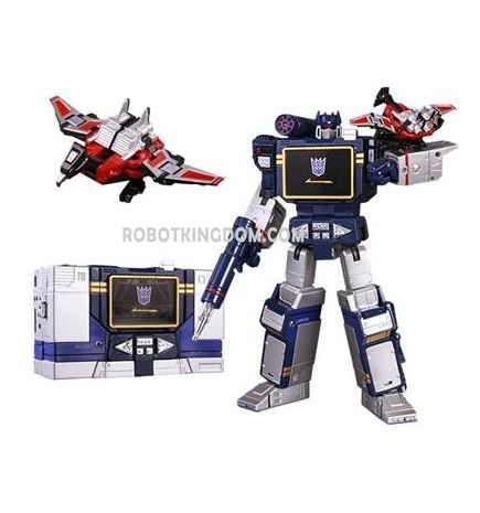 Takara Transformers Masterpiece MP-13 Masterpiece Soundwave Rerun.Come with Collector Pin! Available Now!