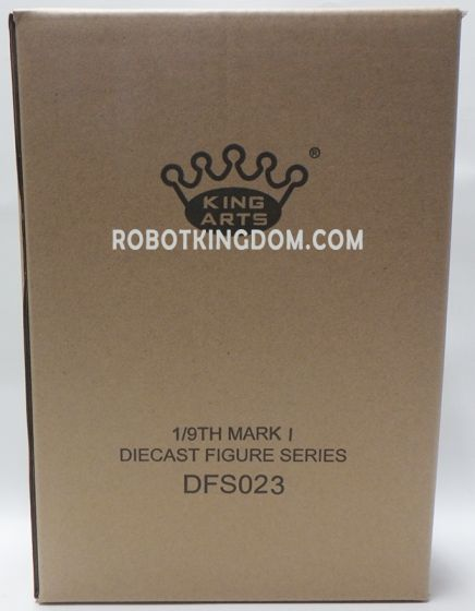 King Arts - 1/9 Diecast Figure Series -DFS023- Iron Man Mark 1. Available Now!