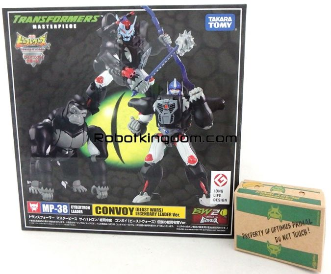 Takara Transformers Masterpiece MP-38 Optimus Primal Supreme Commander version with Premium Gift. Available Now! Last few pcs!