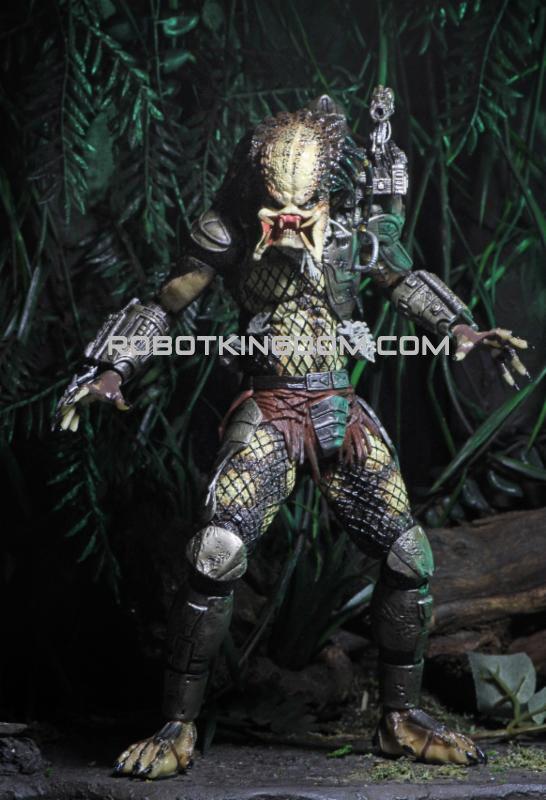 Predator 30th Anniversary Jungle Hunter Unmasked Action Figure Model Statue Toy