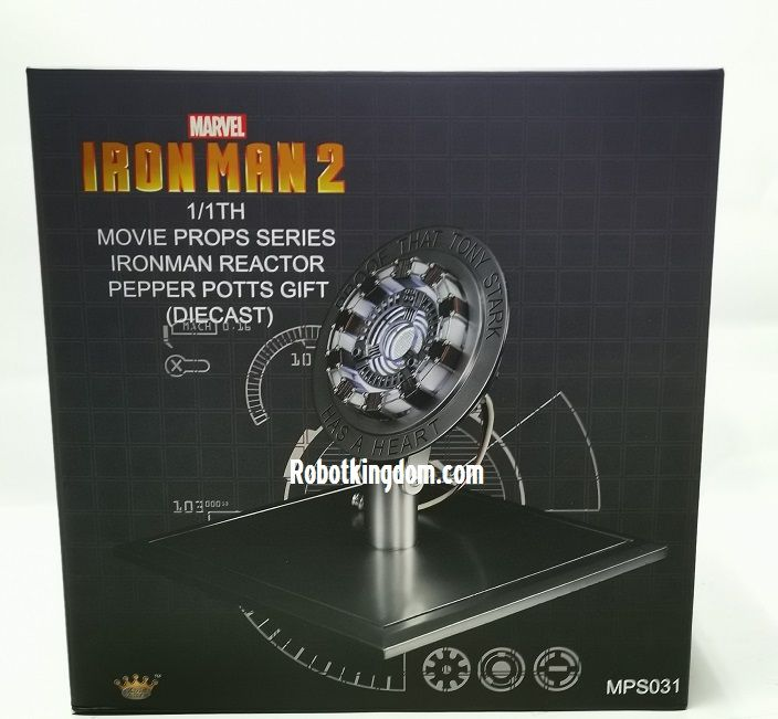 King Art MPS031 1//1 Iron Man Peactor Pepper Potts Gift Movie Props New