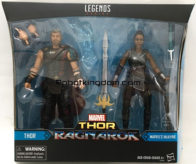 marvel legends Thor Ragnarok 2-Pack Valkyrie Figure Loose New Hasbro Toys