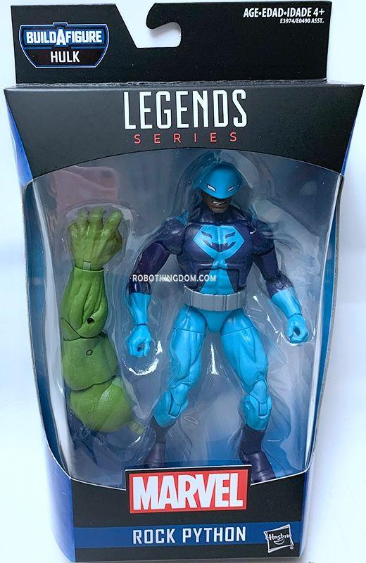 In Stock Marvel Legends Rock Python Hulk BAF Endgame Avengers Wave 4
