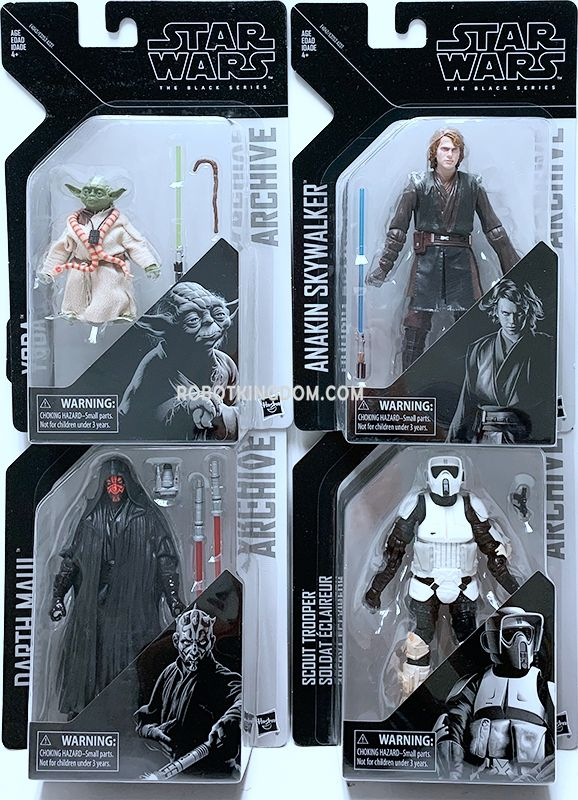Star Wars Rogue One Black Series Titanium Series 4 Pack Assortment