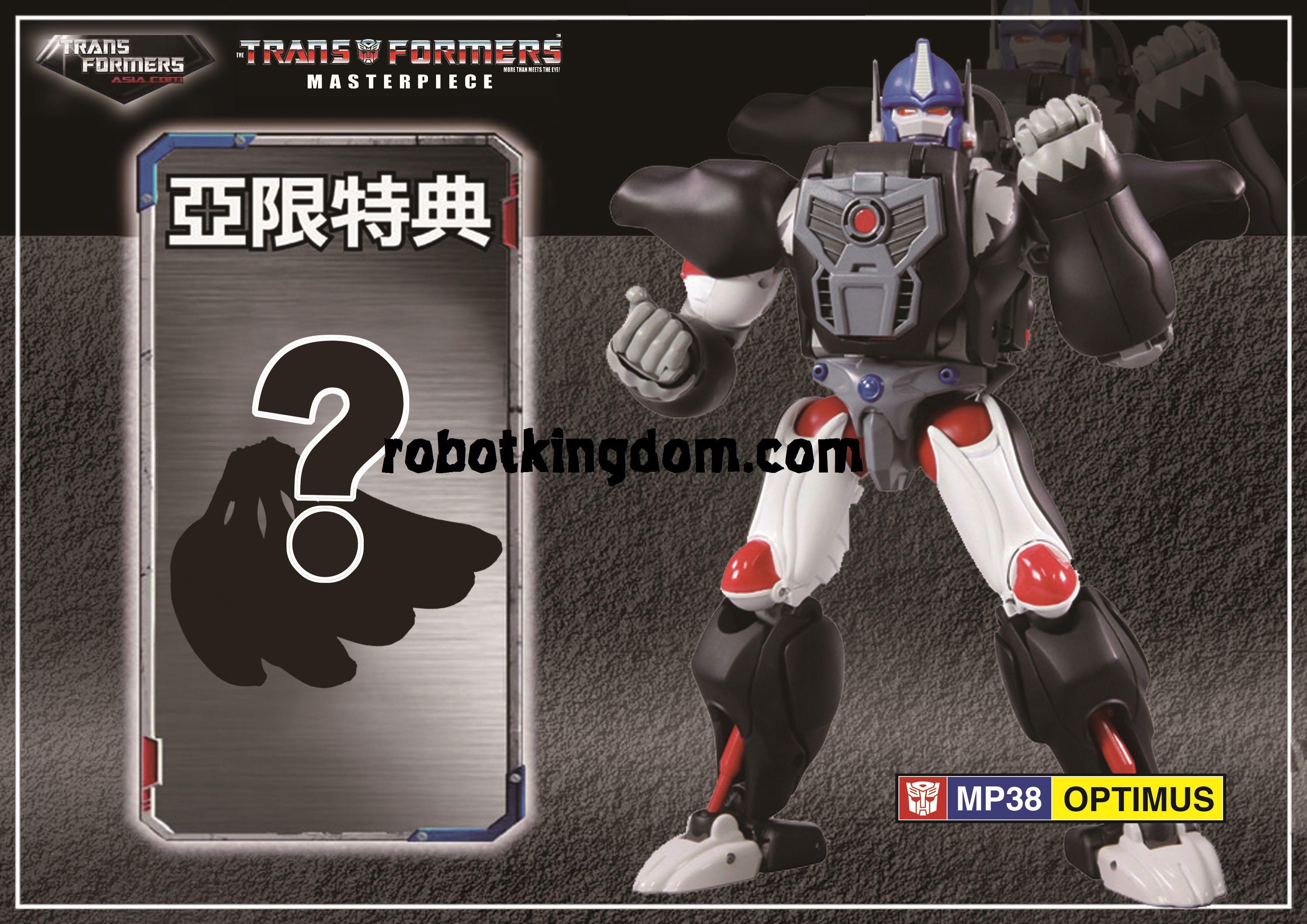 Transformers Masterpiece MP-38 Beast Wars Convoy Optimus Primal Takara Japan