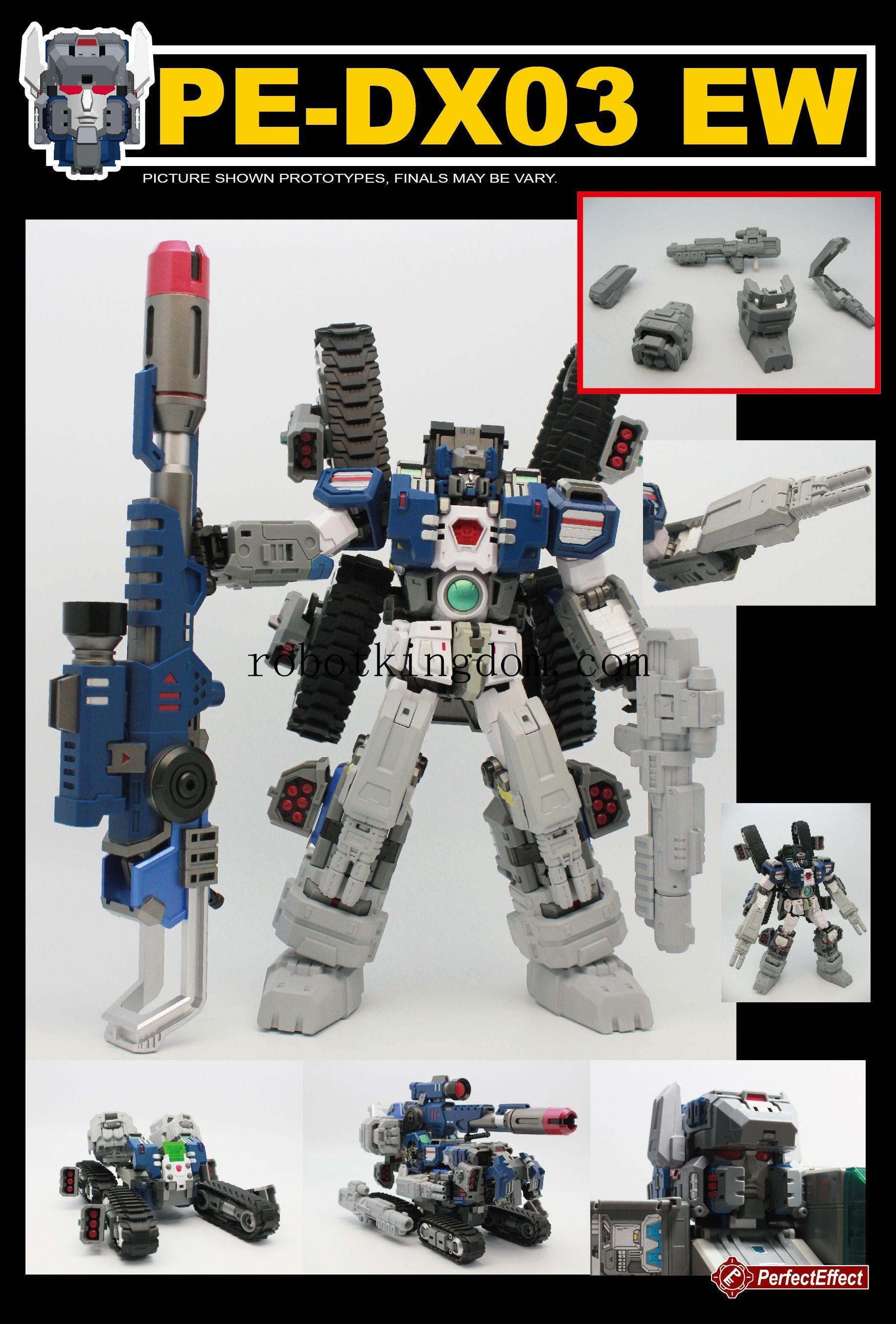 Perfect Effect MOTOBOT PE-DX03 EW Warden Add on Parts