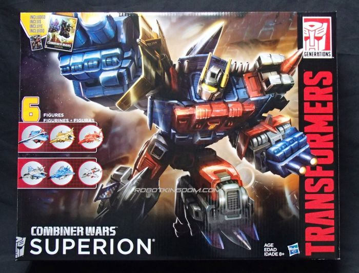 Hasbro Transformers Combiner Wars Generation 2 Superion. Start Shipping Now!