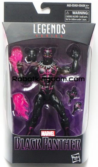 "Walmart Exclusive Marvel LEGENDS Black Panther 6"" HERO PANTHER. Available Now!"