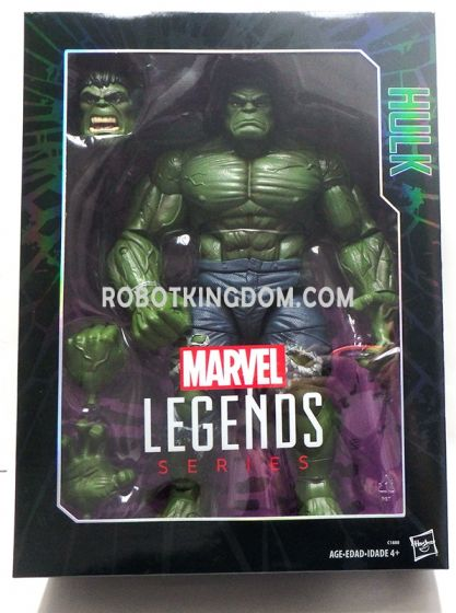 """Marvel Legends 12"""" HULK. Available Now!"""