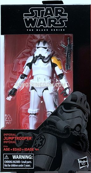 """Star Wars Exclusives Black Series 6"""" Imperial Jumptrooper. Available Now!"""