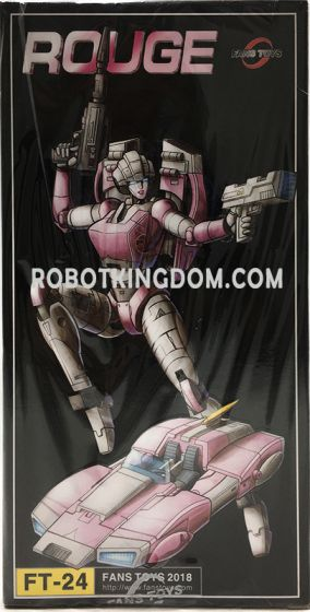 Fans Toys FT-24 Rouge. Available Now!