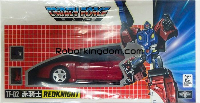 TFC Trinity Force TF-02 Red Knight. Available Now!
