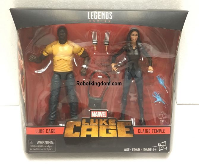 Exclusive Marvel Legends Marvel Luke Cage 2 Pack Luke Cage and Claire Temple. Start Shipping now!