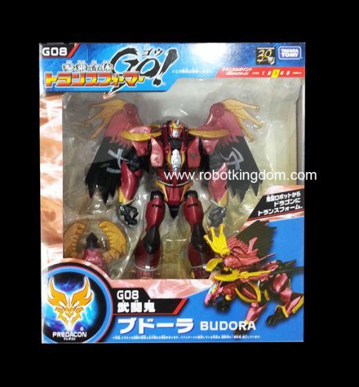Takara Transformers Go G-08 Budora. Available Now!