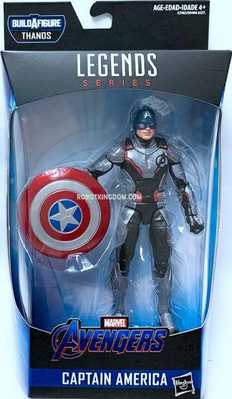 """Hasbro Avengers Endgame Marvel Legends 6"""" 2019 Captain America. Available Now!"""